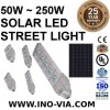 Inovia Il50~250 50W 250W all'indicatore luminoso solare della via LED con incastonato 2 giorni che illuminano le batterie