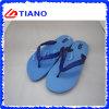 Flip-flop de goma del PVC de los deslizadores de EVA del deslizador de la manera barata del verano (TNK20278)