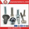 Boulon d'acier inoxydable de MOQ1000PCS et boulon et noix Hex d'acier de noix/carbone