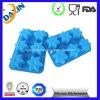 Bandeja de gelo perfeita personalizada do cubo da bandeja do cubo de gelo do silicone
