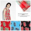 Одежда напечатала Organza ткани с конструкцией листьев ладони