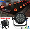 Im Freien18pcs 10W 4in1 RGBW Waterproof LED PAR Stage Light