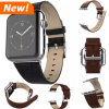 Vaca Leather Skin Strap Watch Band para Apple Watch