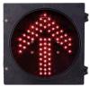 indicatore luminoso del segnale stradale di 200mm LED con il senso rosso della freccia