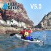 Одиночный Kayak моря сделанный в Кита