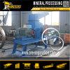 Pequeña minería aurífera diesel de la trituradora de martillo de la piedra de la roca que machaca la máquina