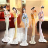 Regalo su ordinazione di alta qualità dei Figurines della donna di Polyresin