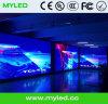 Alta resolução Cabinet interior Aluguer Full Color Display LED