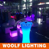 LED مضيئة حفل زفاف حدث الجدول عالية