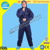 Microporous PE Film Coverall, Disposable Coverall с Hood