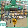 Alzamiento eléctrico a prueba de explosiones modelo de la cuerda de alambre de la Hb 5 toneladas