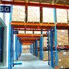 파란 프레임 및 주황색 광속 튼튼한 산업 강철 선반