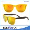 Heet Plastic Frame Twee van de Verkoop de Zonnebril van Kleuren