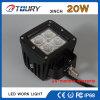 Lámpara de trabajo auto de la venta LED de la fábrica del CREE de la luz 20W del trabajo del LED