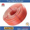 Mangueira de nylon reforçada trançada PVC Ks-1621nlg 50yards da fibra