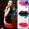 Handtassen van de Dames van Doubai van het Gebruik van de Vrouwen van de rood-Lippen van Bw1-189 de Populairste In het groot