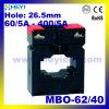 Трансформатор тока для амперметра Mbo-62/40 Трансформатор переменного тока от 60/5 до 400/5 Тороидальные трансформаторы тока