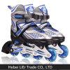 半柔らかい子供のリベットのインラインローラースケートの靴