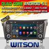 Auto DVD van 5.1 Systeem van Witson de Androïde voor de x-Sleep 2014 van Nissan (W2-F9908N)