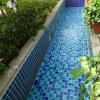 Keramische Mosaik-Fliese-Blau-Farbe
