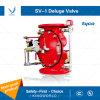 Válvula de dilúvio de fundição Tyco Sv-1 UL para o sistema de combate a incêndio