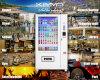 大きい広告表示画面が付いている大きいタッチ画面の自動販売機50インチの