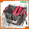 Sacchetto riutilizzabile del carrello di acquisto della drogheria del supermercato