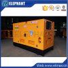 Motore diesel insonorizzato di 25kVA Yangdong impostato con colore giallo