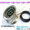 luz cambiante subacuática del punto del color ligero de 18W IP68 para el acuario