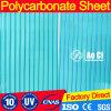 Le polycarbonate creux 16 millimètres effacent la feuille