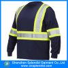 Flama por atacado do Workwear de Shenzhen - t-shirt retardador do Olá!-Vis para homens
