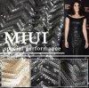 Polyester 100% Mesh Embroidery avec l'unité centrale Sequin