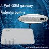 붙박이 안테나를 가진 판 4 채널 GSM VoIP Terminal/GSM VoIP 출입구