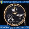 I militari dell'aquila del metallo sfidano la moneta con colore dello smalto