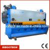 Máquina de estaca hidráulica da placa, máquina de corte da guilhotina hidráulica do CNC