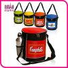 経済的な10缶Round Zippered Lunch Picnic Game Bulk Cooler Bag Multi Colors Combo