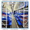 Carton high-density Flow Pallet Rack para Warehouse Storage