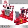 Bomba de água Diesel para a luta contra o incêndio com o gabinete do controlo automático