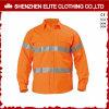 Camicia riflettente del manicotto ciao di forza di usura lunga su ordinazione del lavoro (ELTHVSI-5)