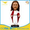 Goedkope Hars Geschilderde Jesus Doll Bobblehead Fifurine met SGS