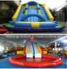 Inflatable gigante Slide con Pool da vendere