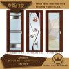 Алюминиевые/алюминиевые двери Windows и прикрепленная на петлях дверь