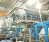 Tecido crescente automático de alta velocidade que faz a maquinaria