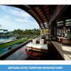 Weißes Gewebe gepolstertes Rücksortierung-Balkon-bestes Sofa-Bett (SY-BS89)