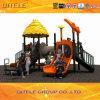 Corrediça ao ar livre do campo de jogos das crianças (2014WPII-10401)