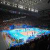 Plancher chaud de volleyball de roulement de PVC de la vente bon marché 2016