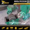 機械に石造りの鉱石のハンマー・クラッシャーの鉱山機械をする金の砂
