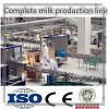 Terminar la cadena de producción del jugo de la leche planta/máquina de la leche
