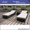 PEの藤の屋外のテラスの柳細工の家具セット、庭のラウンジのソファー(J383-A)