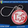 Фабрика низкой цены металла Keychain в Китае